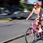 Budapesten minden negyedik ember biciklizik