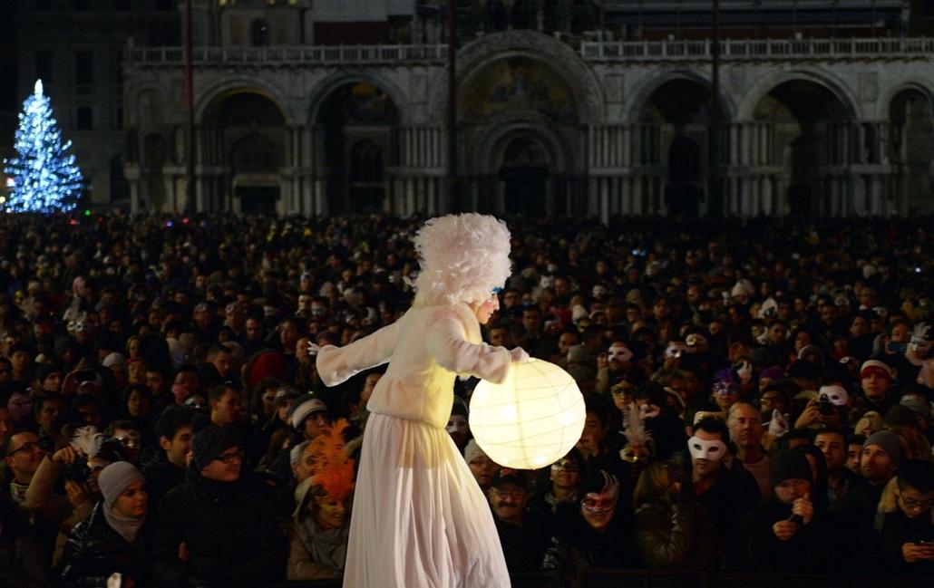 afp. hét képe - Szent Márk tér, Velence, újév, szilveszter 2014.01.01.