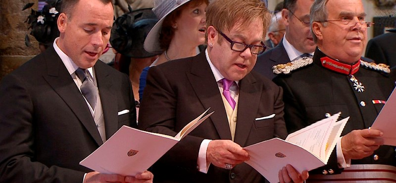 Fotók: hírességek a királyi esküvőn