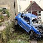 Öt baleset fél nap alatt ugyanazon a helyen - fotó