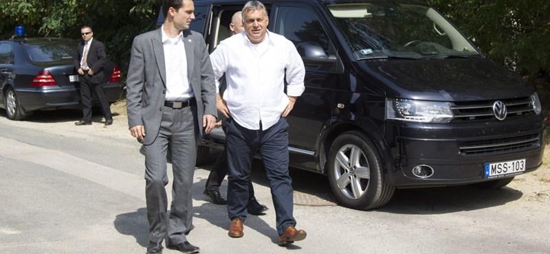 Titok, hány autót használ Orbán Viktor