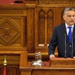 Megzavarták Orbán Viktor beszédét - percről percre a parlament üléséről