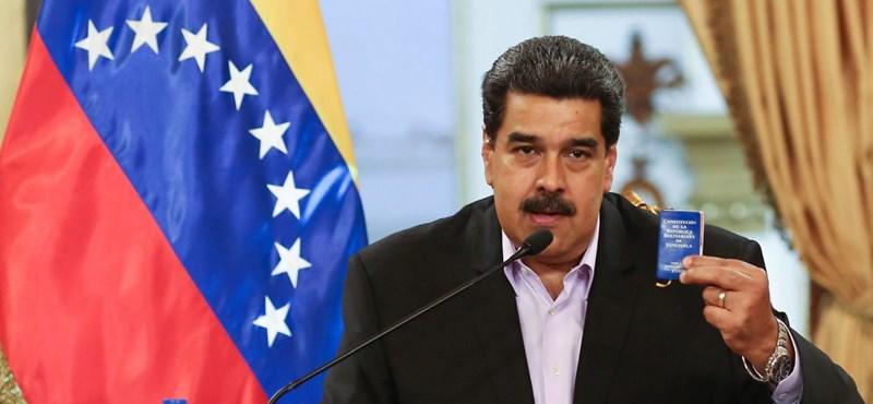 Maduro megvádolta volt hírszerzési vezetőjét, hogy CIA-ügynök