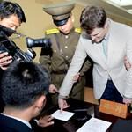 Megszólalt az Észak-Koreából kiszabadított diák édesapja