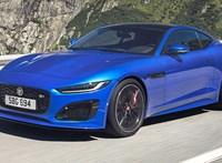 Itt a Jaguar legújabb sportkocsija, az akár 575 lóerős F-Type