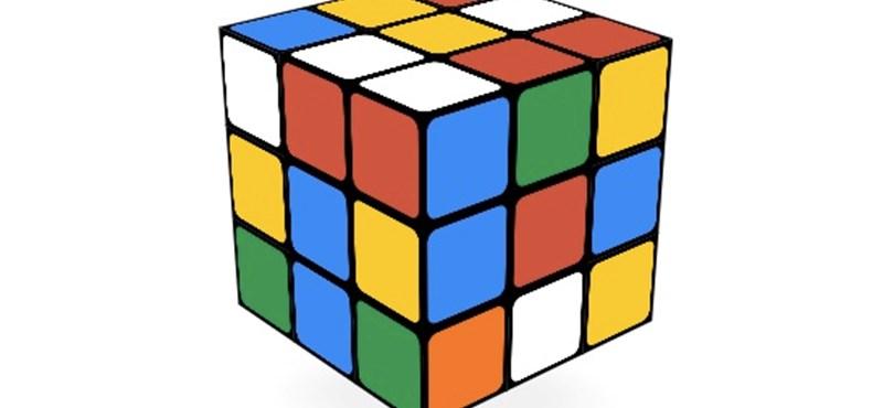 Csak ma: Rubik-kockával játszhat a Google-n