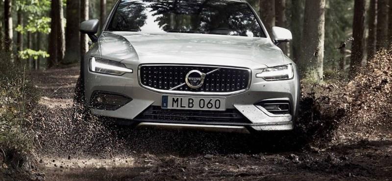 Terepre vele: itt a szemrevaló Volvo V60 Cross Country