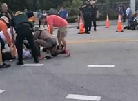 A Pride felvonulás nézői közé hajtott egy autós Floridában