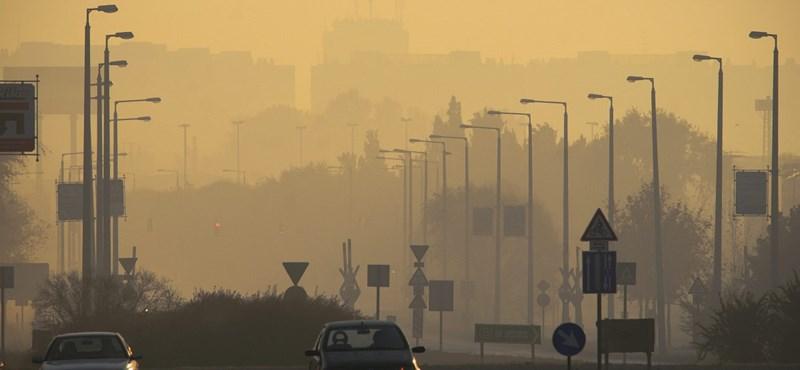 Szmog: több városban még mindig veszélyes a levegő