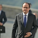 Videó: Lövés dördült Hollande beszéde közben, ketten megsérültek