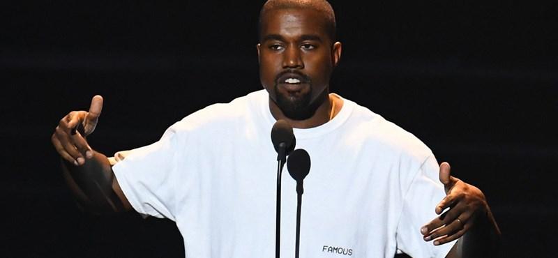 Kanye West elég bizarr módon izzította be az elnökválasztási kampányát