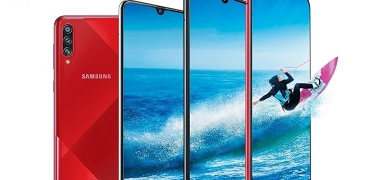 64 megapixeles kamerával és hatalmas akkumulátorral itt a Samsung új mobilja