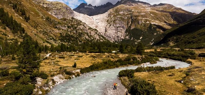 Baj van Ausztriában, drámai mértékben olvadnak a gleccserek