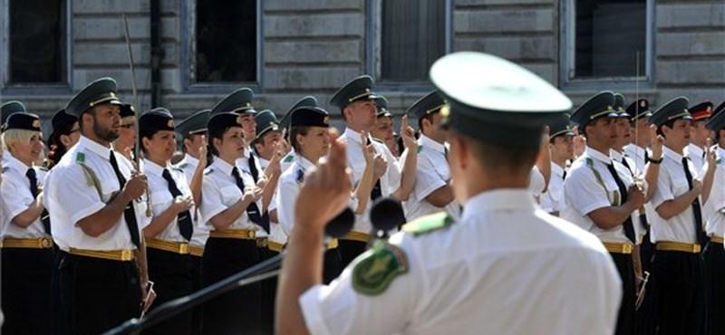 Negyedére esett vissza rendészeti iskolákban tanulók száma az elmúlt években