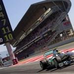 Forma-1: Rosberg egy másodpercet vert Schumacher rekordjára
