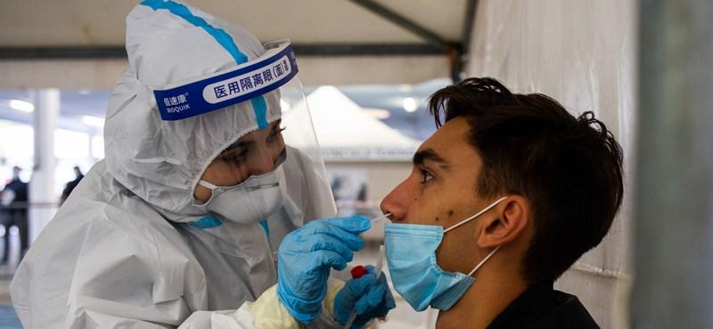 Olaszországban még soha nem találtak annyi fertőzöttet, mint most