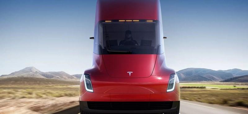 """Tolatóradar: a Tesla bemutatta a csodakamiont, és egy négykerekű """"űrhajót"""""""