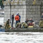 Dunai hajóbaleset: csak hétfőn próbálkozhatnak merüléssel a búvárok