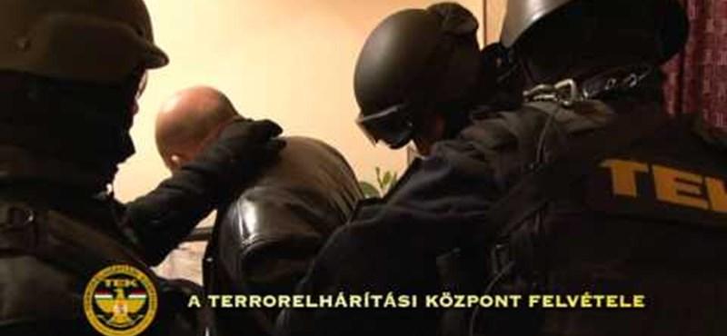 120 fős TEK-akció: ketten kerültek előzetesbe a 23 elfogott közül