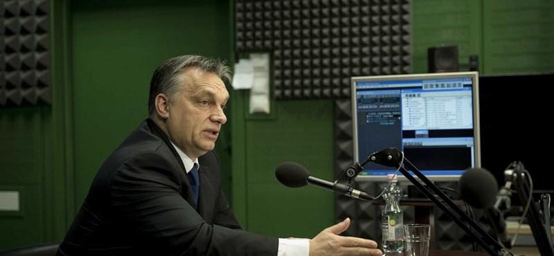 Orbán Viktor: Nem elégedettek velünk az emberek