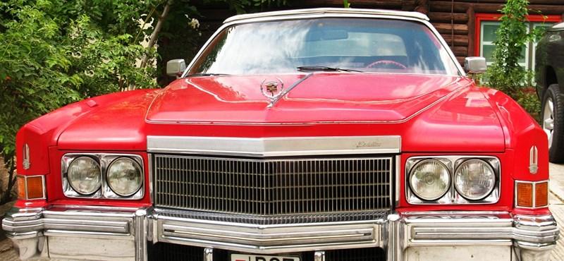 Amerikai autók Kenesén