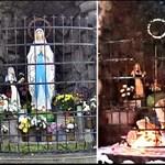 Nyomravezetői díjat ajánlott a Mária-szobor rongálójának elfogásáért a fideszes politikus