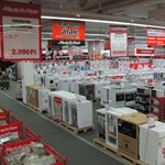Lakat a Media Markt zalaegerszegi áruházán