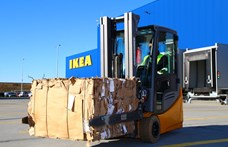 Papírpalettákkal ötvözi a logisztikai csúcstechnológiát az IKEA Soroksáron