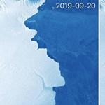 315 milliárd tonnás jégdarab szakadt le az Antarktiszról – fotó