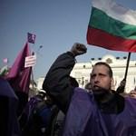Sztrájk és tüntetés okoz káoszt Bulgáriában is
