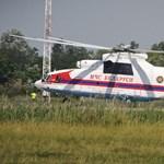 Fotók: a világ legnagyobb helikoptere érkezett a Die Hard forgatására