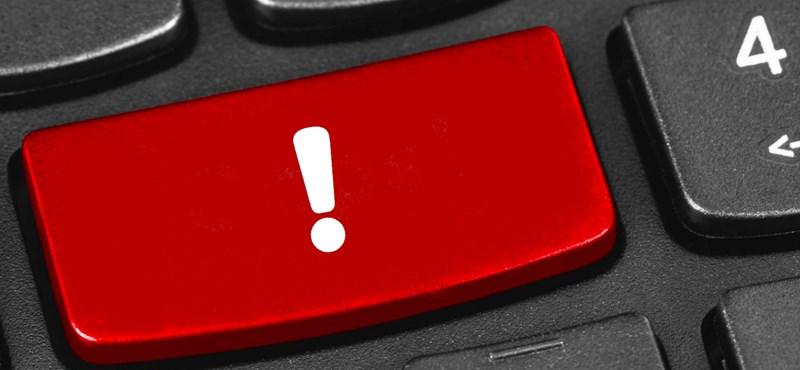 Ha ilyet ír ki a gépe vagy telefonja, ne kattintson tovább