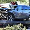 Jobban van az autóbalesetben súlyosan megsérült Tiger Woods