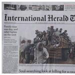 Fotó: Így lett vége az International Herald Tribune-nak