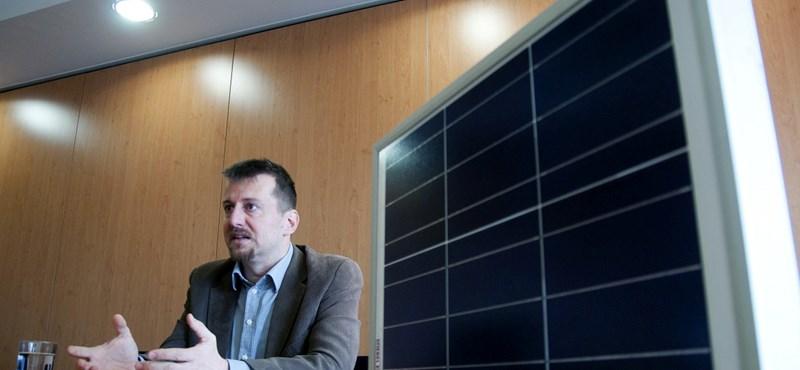 A vibrálóan színes európai napelemtérképen csak egy fekete pont vagyunk