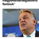 Álhír terjed a magyar fizetésekről és Orbán Viktorról