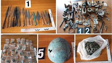Nyolc és fél milliónyi régészeti lelettel bukott le egy csempész