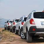 Borászkodás Opel Antarával