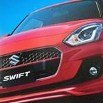 Katalógusfotóival bukott le az új Suzuki Swift