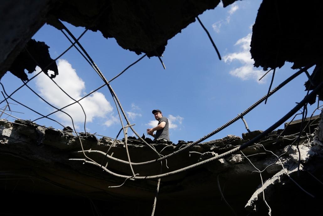 hét képei - 16.06.24. - Ukrajna:Heves tüzérségi csapást mértek nagy kaliberű fegyverekkel a Moszkva által támogatott szakadárok vasárnapra virradóan a Donyeck melletti ukrán ellenőrzésű Avgyijivka településre