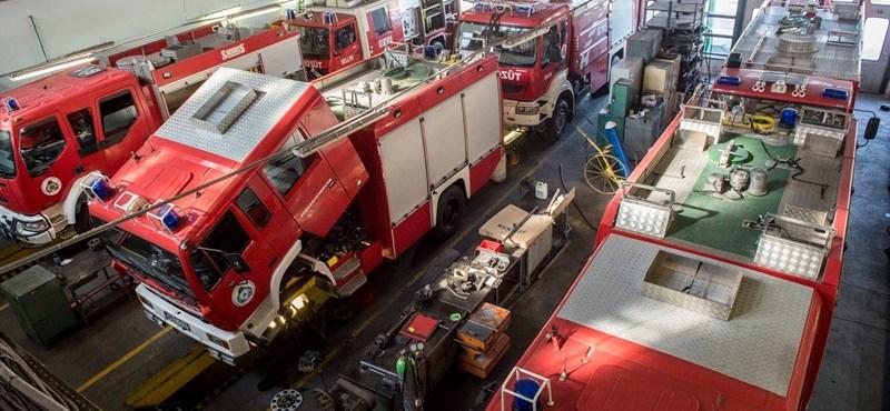 Tűz ütött ki az egyik pilisszentkereszti iskolánál