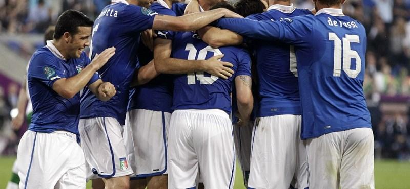 Fellélegeztek az olasz játékosok