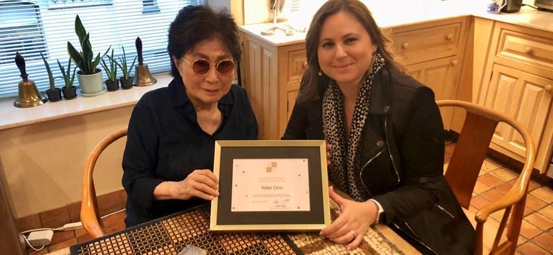 Polgár Judit szakkommentálta a sakkvilágbajnoki döntőt, és kitüntette Yoko Onót