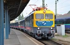 Kigyulladt egy mozdony a ferencvárosi pályaudvaron