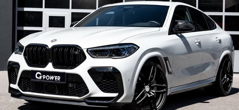 800 lóerős lett a BMW X6 M divatterepjáró