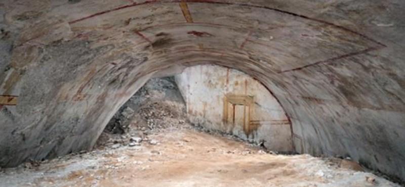 Csaknem 2000 év után fedezték fel Nero császár Aranypalotájának termét
