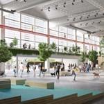 Látványterveken a Diákváros nagyvásártelepi fejlesztése
