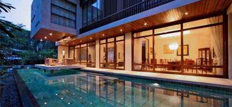 A világ legszebb otthonai: egyszerű szingapúri luxusvilla
