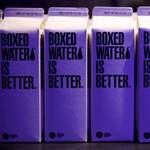 Már papírdobozban is kapható víz