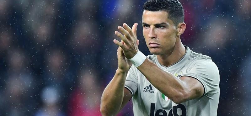Folytatta a gólgyártást Cristiano Ronaldo